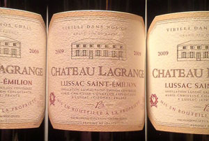 Chateau Lagrange Lussac Saint Emillion 2009